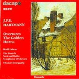 OUVERTURES DANISH NAT.RSO/DAUSGAARD J.P.E. HARTMANN, CD