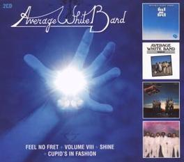 FEEL NO.. .. FRET/SHINE/CUPID'S IN FASHION Audio CD, AVERAGE WHITE BAND, CD