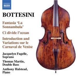 FANTASIA SONNAMBULA MARTIN, HALSTEAD Audio CD, BOTTESINI, CD