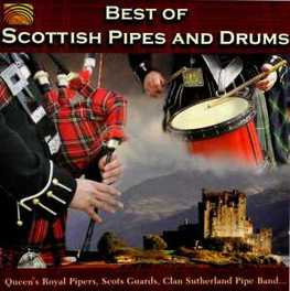 SCOTTISH PIPES AND DRUMS BEST OF V/A, CD