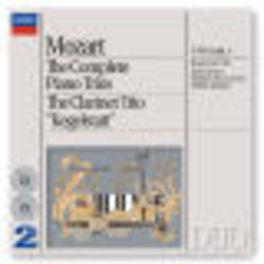 COMPLETE PIANO TRIOS/CLAR ...CLARINET TRIO KEGELSTATT/W/BEAUX ARTS TRIO Audio CD, W.A. MOZART, CD