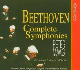 COMPLETE SYMPHONIES ORCH.PADOVA DEL VENETO/MAAG Audio CD, L. VAN BEETHOVEN, CD