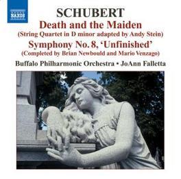 DEATH & THE MAIDEN BUFFALO P.O./FALLETTA Audio CD, F. SCHUBERT, CD
