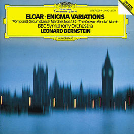 ENIGMA VARIATIONS/CROWN O BBC SYMPH.ORCH./BERNSTEIN Audio CD, E. ELGAR, CD
