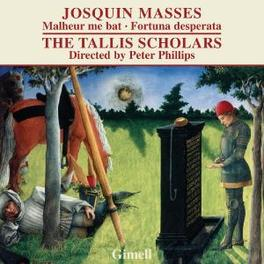 MISSA MALHEUR ME BAT/FORT TALLIS SCHOLARS/PHILLIPS Audio CD, J. DESPREZ, CD