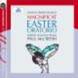 OSTER ORATORIUM, MAGNIFIC MCCREESH/GABRIELI CONSORT & PLAYERS Audio CD, J.S. BACH, CD