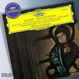 REQUIEM BERLIN P.O./KARAJAN Audio CD, W.A. MOZART, CD