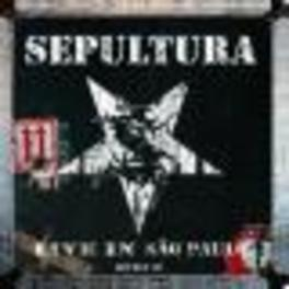 LIVE IN SAO PAULO Audio CD, SEPULTURA, CD