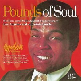 POUNDS OF SOUL W/ ARTHUR & MARY, JACKIE DAY, BETTY BIBBS, JOHNNY COPEL Audio CD, V/A, CD