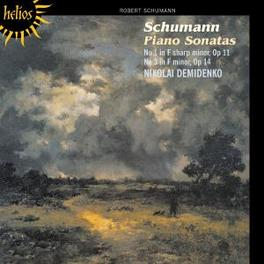 PIANO SONATAS NO.1&3 NIKOLAI DEMIDENKO Audio CD, R. SCHUMANN, CD