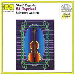 24 CAPRICCI SALVATORE ACCARDO Audio CD, N. PAGANINI, CD