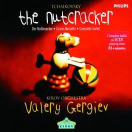 NUTCRACKER VALERY GERGIEV/KIROV ORCHESTRA Audio CD, P.I. TCHAIKOVSKY, CD