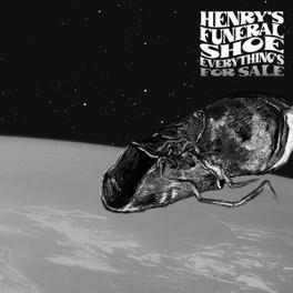EVERYTHING'S FOR SALE LOUD SOULFUL ROCK'N'ROLL FROM THE UK HENRY'S FUNERAL SHOE, Vinyl LP
