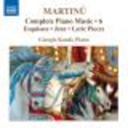 COMPLETE PIANO MUSIC V.6 GIORGIO KOUKL Audio CD, B. MARTINU, CD