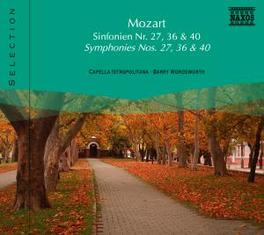 SYMPHONIES NO.27 & 36 C.I.B./WORDSWORTH W.A. MOZART, CD