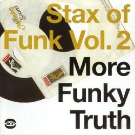 STAX OF FUNK 2 INCL. RUFUS THOMAS, STAPLE SINGERS, ALBERT KING A.O. Audio CD, V/A, CD
