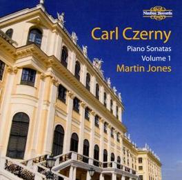 PIANO SONATAS VOL.1 MARTIN JONES Audio CD, C. CZERNY, CD
