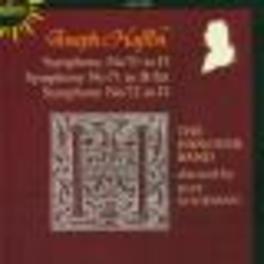 SYMPHONIES 70-72 THE HANOVER BAND Audio CD, J. HAYDN, CD