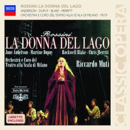 LA DONNA DEL LAGO RICCARDO MUTI Audio CD, G. ROSSINI, CD
