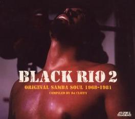 BLACK RIO VOL.2.. -DIGI- .. ORIGINAL SAMBA SOUL 1968-81 Audio CD, V/A, CD