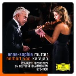 COMPLETE REC. ON DG BERLINER PHILHARMONIKER/HERBERT VON KARAJAN Audio CD, MUTTER, ANNE-SOPHIE, CD