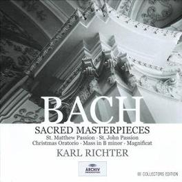 SACRED MASTERPIECES SOLOISTS/MUNCHENER BACH/RICHTER Audio CD, J.S. BACH, CD
