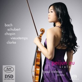 WORKS FOR VIOLA & PIANO PAUL RIVINIUS//WORKS BY VIEUXTEMPS... PEIJUN XU, CD