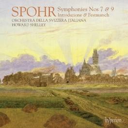 SYMPHONIES NO.7 & 9 ORCHESTRA DELLA SVIZZERA ITALIANA L. SPOHR, CD