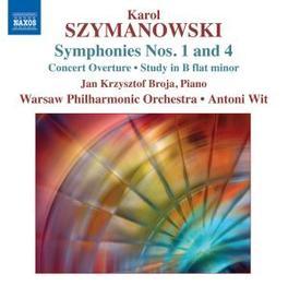 SYMPHONIES NOS.1 & 4 E.MARCZYK, VIOLIN SOLO/M.MARCZYK, VIOLA SOLO Audio CD, K. SZYMANOWSKI, CD