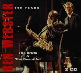 BRUTE & THE BEAUTIFUL Audio CD, BEN WEBSTER, CD