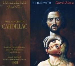 CARDILLAC COLOGNE RADIO S.O./JOSEPH KEILBERTH Audio CD, P. HINDEMITH, CD