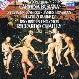 CARMINA BURANA RADIO SINFONIE ORCH.BERLIN/CHAILLY Audio CD, C. ORFF, CD