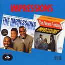 IMPRESSIONS/NEVER ENDING 24 TRACKS:2 LP'S FROM 63 & 64