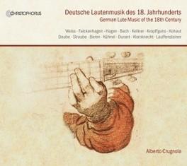 DEUTSCHE LAUTENMUSIK 1800 WORKS BY WEISS/FALKENHAGEN/HAGEN/KELLNER V/A, CD