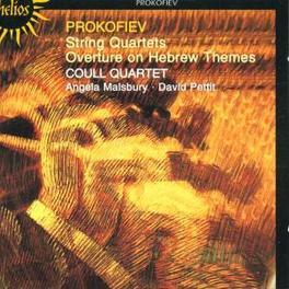 STRING QUARTETS W/COULL STRING QUARTET, DAVID PETTIT, ANGELA MALSBURY Audio CD, S. PROKOFIEV, CD