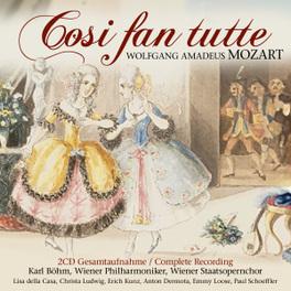 COSI FAN TUTTE KARL BOHM/WIENER PHILHARMONIKER/WIENER STAATSOPERNCHOR W. A. MOZART, CD