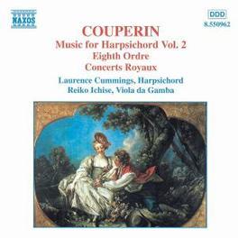 MUSIC FOR HARPSICHORD V.2 W/LAURENCE CUMMINGS, REIKO ICHISE F. COUPERIN, CD