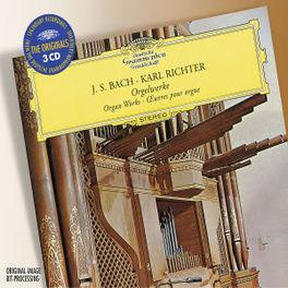 ORGAN WORKS W/KARL RICHTER Audio CD, J.S. BACH, CD