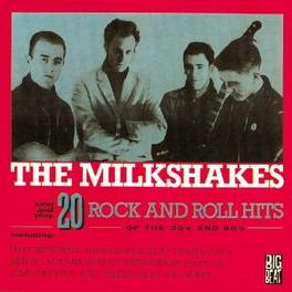 20 ROCK AND ROLL HITS 'OF THE 50'S AND 60'S' Audio CD, MILKSHAKES, CD