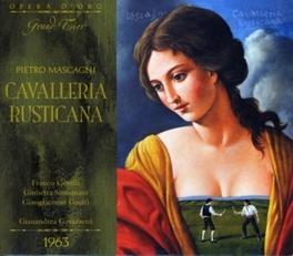 CAVALLERIA RUSTICANA WITH GIANANDREA GAVAZZENI P. MASCAGNI, CD