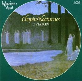 COMPLETE NOCTURNES W/LIVIA REV ON PIANO Audio CD, F. CHOPIN, CD