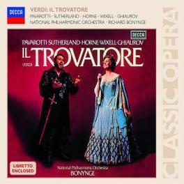 IL TROVATORE NAT.PHIL.ORCH./RICHARD BONYNGE Audio CD, G. VERDI, CD