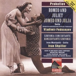 ROMEO AND JULIET SUITE OP 64 W/USSR TV & RADIO LARGE SO MOSCOW/V. FEDOSEYEV/I.MON Audio CD, S. PROKOFIEV, CD