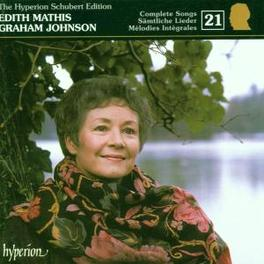 SCHUBERT EDITION 21 W/EDITH MATHIS Audio CD, F. SCHUBERT, CD