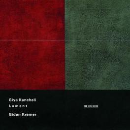 LAMENT G.KREMER/M.DEUBNER/TBILISI SO/KAKHIDZE Audio CD, G. KANCHELI, CD