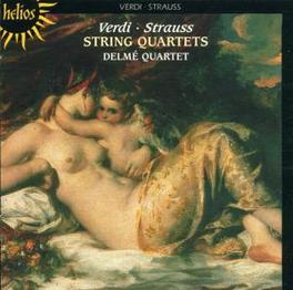 STRING QUARTETS W/DELME QUARTET (*R.STRAUSS) Audio CD, VERDI/STRAUSS, CD