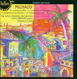 LE CARNAVAL DE LONDRES NEW LONDON ORCHESTRA/RONALD CORP Audio CD, D. MILHAUD, CD