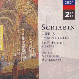 SYMPHONIES RSO BERLIN, DSO/ASHKENAZY Audio CD, A. SCRIABIN, CD
