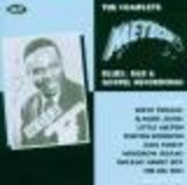 COMPLETE METEOR BLUES ..R&B & GOSPEL RECORDINGS Audio CD, V/A, CD