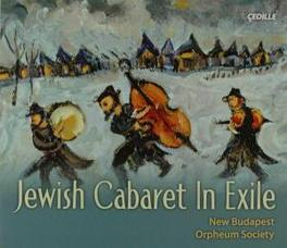 JEWISH CABARET IN EXILE Audio CD, NEW BUDAPEST ORPHEUM SOCI, CD